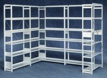 Standard shelving / merchandise / storage / steel