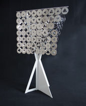 Table lamp / contemporary / metal / commercial