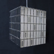 Pendant lamp / contemporary / metal / commercial