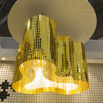 Contemporary chandelier / metal / commercial