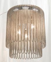 Original design chandelier / metal / commercial