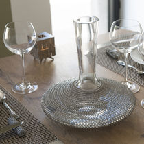 Crystal carafe / stainless steel