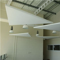 Ceiling acoustic panel / fabric / for public buildings