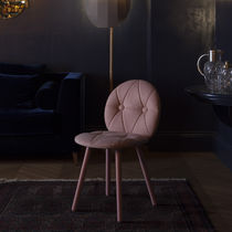 Scandinavian design chair / beech / ash / upholstered