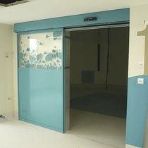 Indoor door / sliding / glass / automatic