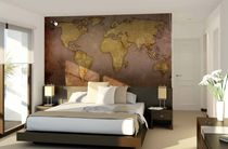 Contemporary wallpaper / patterned / custom / personalized