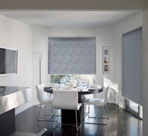 Roller blinds / aluminum / ceiling mount