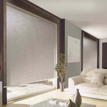 Roller blinds / aluminum / chain-operated / wall-mounted