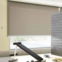 Roller blinds / aluminum / motorized / wall-mounted