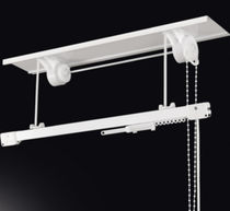 Chain-operated curtain track / for drapes / commercial / for domestic use
