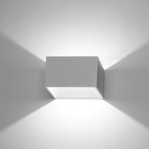 Contemporary wall light / aluminum / metal / LED