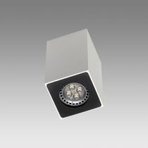 Surface mounted downlight / LED / square