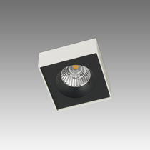 Ceiling-mounted spotlight / indoor / LED / metal