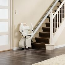 Indoor chair stair lift / power-operated