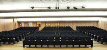 Auditorium armchair / contemporary / tablet / folding