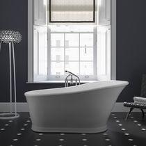 Free-standing bathtub / oval / composite