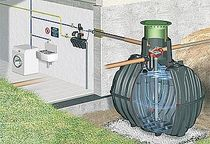 Home rainwater recovery kit
