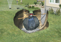 Rainwater recovery kit / for gardens