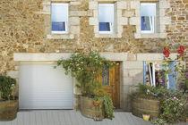 Roll-up garage doors / aluminum / automatic