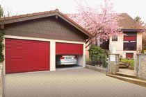Sectional garage doors / aluminum / automatic