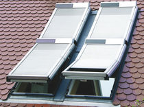 Roller shutters / aluminum / for roof windows / acoustic