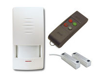 Intruder detector / wall-mounted / commercial / dual-technology