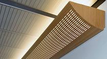Wooden cornice / indoor