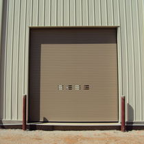 Roll-up industrial door / aluminum / galvanized steel / stainless steel