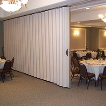 Folding partition / aluminum / professional