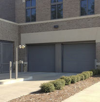 Sectional industrial door / galvanized steel / high-performance / insulated