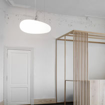 Pendant lamp / original design / polyethylene / compact fluorescent