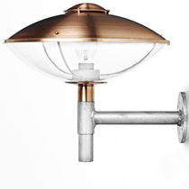 Traditional wall light / outdoor / steel / copper
