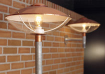 Urban lamppost / traditional / steel / copper