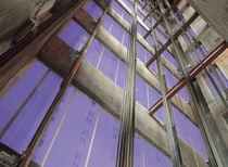 Water-repellent plasterboard / reinforced / fire-retardant