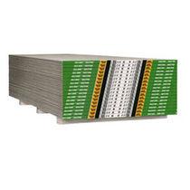 Water-repellent plasterboard / fire-retardant / GreenGuard® certification / low-VOC