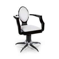 Vinyl beauty salon chair / swivel / star base