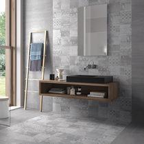 Wall tile / for floors / ceramic / plain
