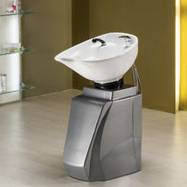 Free-standing washbasin / polyethylene / contemporary / for hairdressers
