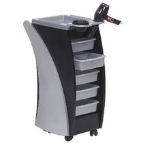 Treatment trolley / wooden / for hairdressers