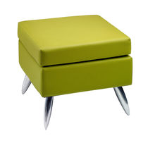 Contemporary pouf / fabric / square / for beauty salons