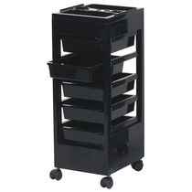 Treatment trolley / ABS / for hairdressers