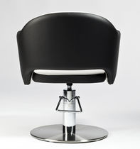Styling armchair / modern / with hydraulic pump / central base