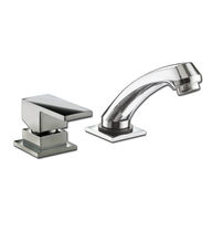 Washbasin mixer tap / chromed metal / bathroom / 2-hole
