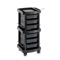 Treatment trolley / plastic / for beauty salons