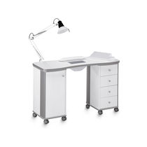 Manicure table with vacuum cleaner