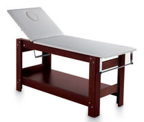 Collapsible massage table / wooden