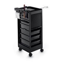 Treatment trolley / aluminum / for beauty salons