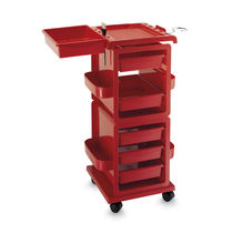 Treatment trolley / metal / for beauty salons