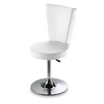 Synthetic leather beauty salon chair / adjustable / central base