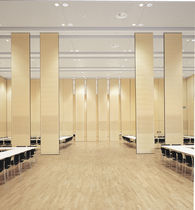 Sliding partition / laminate / acoustic / professional